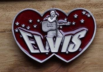 """Austauschbare Schnalle  """" Elvis """""""