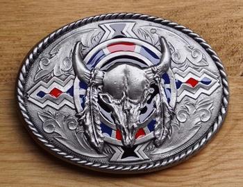 """Belt buckle  """" Skull """""""