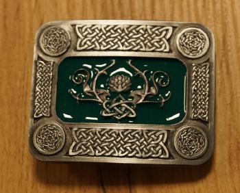 """Buckle  """" Driemal Keltischer Acht """""""