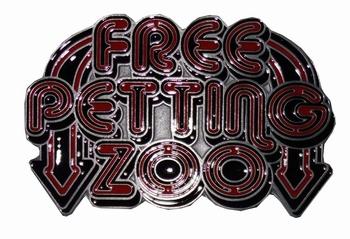 "Austauschbare Schnalle  "" Free petting zoo """