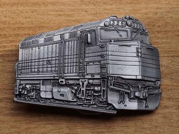 """Gürtelschnalle  """" Amerikanische Lokomotive """""""