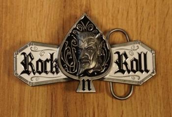 """Belt buckle  """" Rock 'n Roll """""""