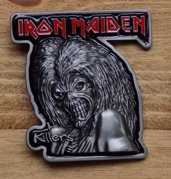 "Music buckle  "" Iron Maiden """