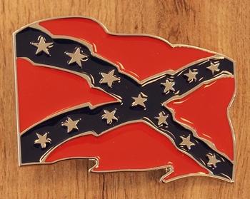 "Belt buckle  "" Rebelflagge """