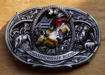 """Gürtelschnalle  """" Rodeo rider """" Championship"""