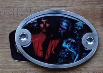 "Gürtelschnalle  "" Michael Jackson """