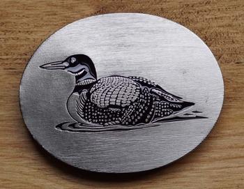 "Gürtelschnalle  "" Ente """