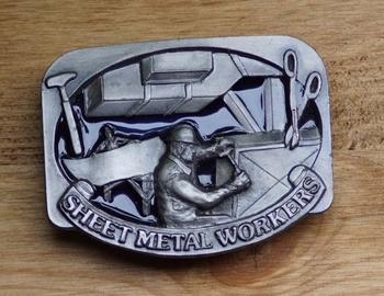 "Belt buckle "" Sheet metal workers ""  ( Blechbearbeiter )"