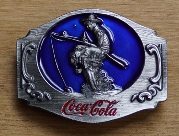 """Buckle  """" Coca cola """"   Fischer"""