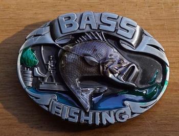 "Buckle  "" Bass Fishing """