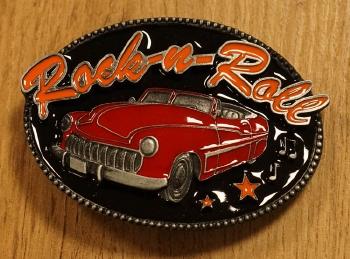 """Gürtelschnalle  """" Rock 'n Roll """""""