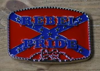 "Gürtelschnalle  "" Rebel Pride """