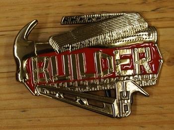 """Schließen Schnalle  """" Builder """"  ( Erbauer )"""
