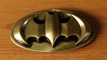 "Buckle  "" Batman ""   Golden Farbe"