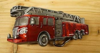 """Gürtelschnalle  """" Feuerwehrauto """""""