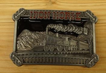 "Buckle  "" Iron horse """