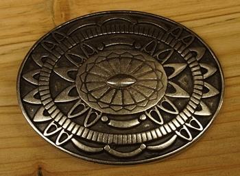 """Belt buckle  """" Azteken Schild-Universum  """""""