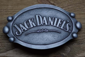 "Ornamentale Schnalle   "" Jack Daniel's  ""  AUSVERKAUFT"