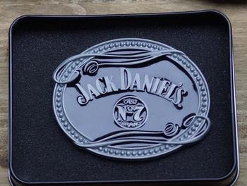"""Schliessen Schnalle  """" Jack Daniels old no 7 brands """""""