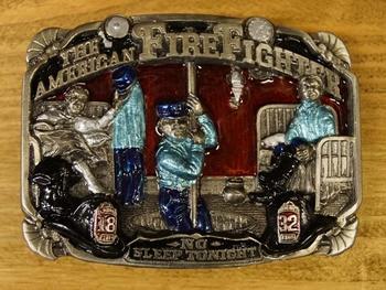 "Lose Schnalle "" The American Firefighter "" (Feuerwehrmänner)"