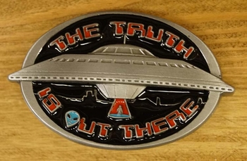 """Buckle  """" The Truth """"    (UFO)"""