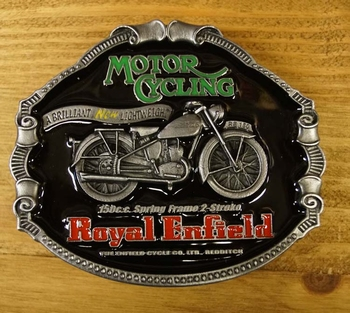 """Motor cylce buckle  """" Royal Enfield """""""