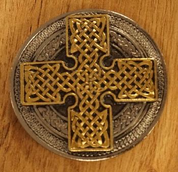 """Belt buckle """"  Celtic knot """"   AUSVERKAUFT"""