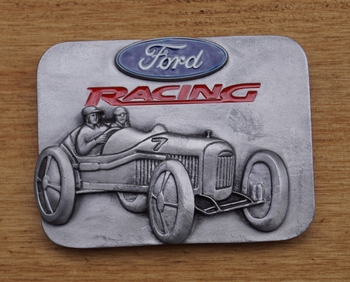 "Automarke Schnalle  ""  Ford Racing """