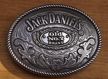 "Buckle  "" Jack Daniels old no 7 brands """