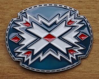 """Buckle """" Aztecs Motive """""""