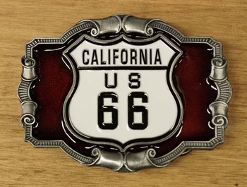 "Buckle  "" California us 66 """