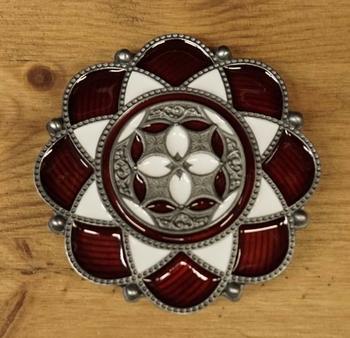 "Keltisch Gürtelschnalle  "" Lotus Flower """