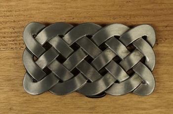 """Belt buckle  """" Celtic knots """""""