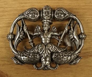 """Gürtelschnalle   """" Hinduismus Götter """""""