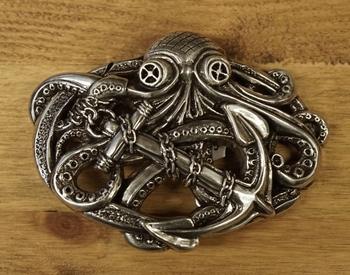 """Belt buckle  """" Octopus """""""