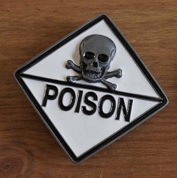 "Belt buckle   "" Poison Totenkopf  """
