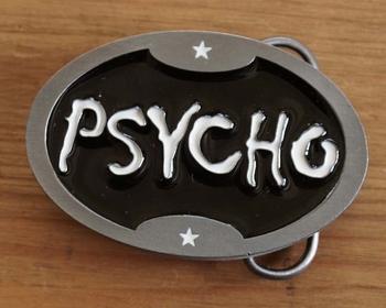 "Gürtelschnalle  "" Psycho """