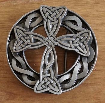 """Gürtelschnalle """" Celtic cross """""""