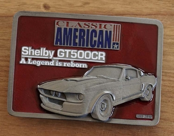 """Classic American buckle  """" Shelby GT 500 """""""