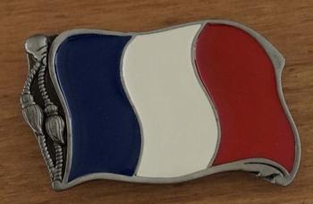 """Buckle """" Flag France """""""