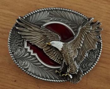 "Buckle  "" Fliegende Adler """