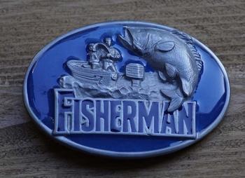 """Belt buckle  """" Fisherman """"  ( Fischer )"""