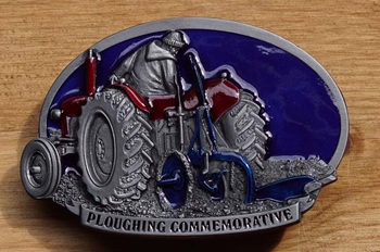 """Buckle  """" Ploughing commemorative """""""