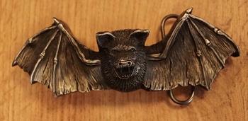 """Belt buckle  """" Fliegender Fledermans """""""