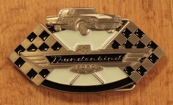 """Automarke Schnalle  """"  Thunderbird Ford """""""