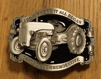 """Buckle  """" Traktor commemorative """"  Nickel   AUSVERKAUFT"""