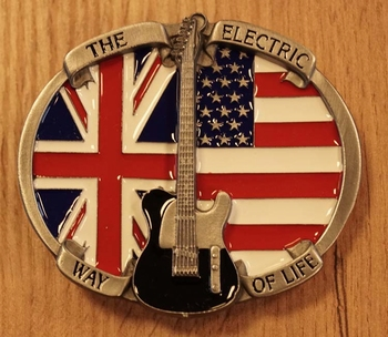 """Buckle  """" The electric way of life """""""