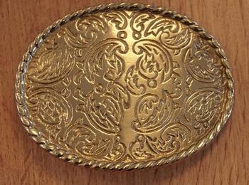 """Buckle """" Zeirmotieven mit Blumen design """" Gold- Silber farbe"""