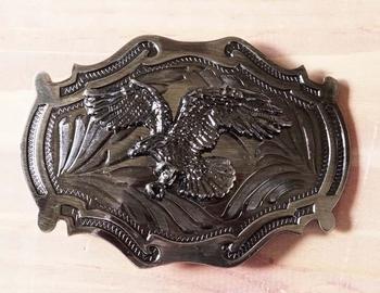 "Belt buckle  "" Adler  "" Nickelfarben"