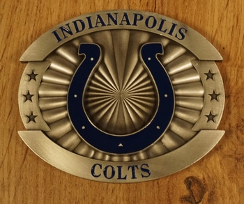 """American Football buckle """" Indianapolis Colts """""""